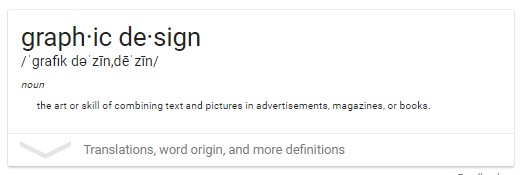 Graphic design meaning