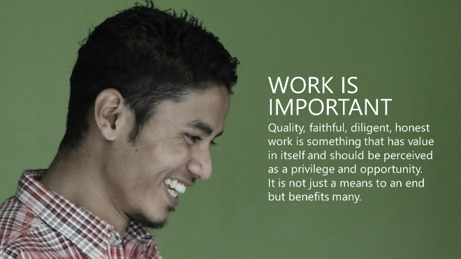 work not just a means to an end - work at Chillibreeze