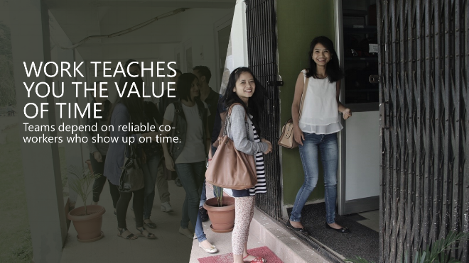 At Chillibreeze work teaches you the value of time - purposeful work