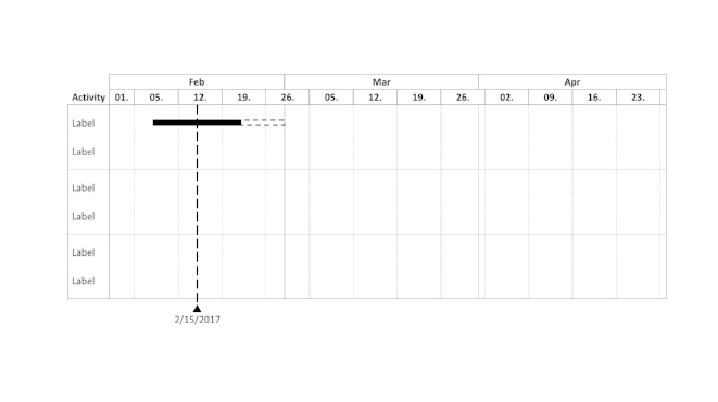 How to create amazing charts using think cell gantt chart gantt charts using think cell ccuart Gallery