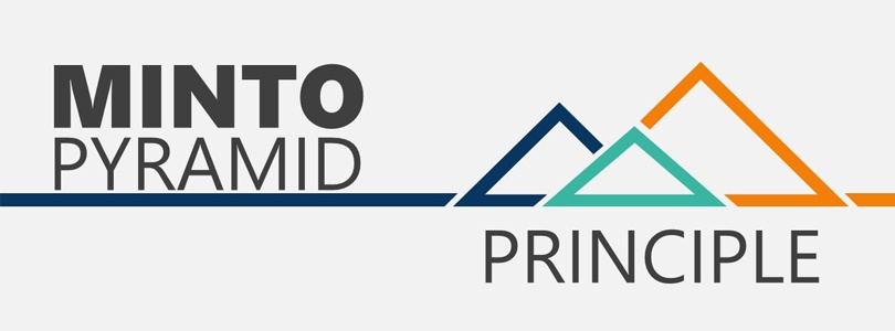 Minto Pyramid Principle to Showcase our New Approach to Marketing