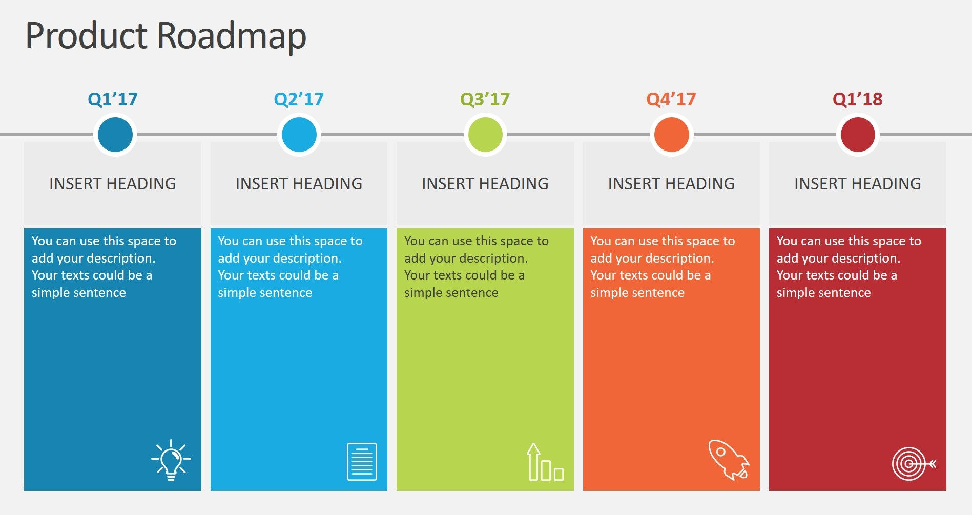 Effective Ways To Use Roadmap Analogy In PowerPoint - Visual roadmap template